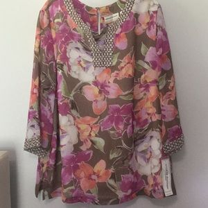 New with tags, ladies tunic.